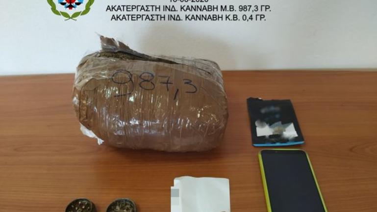 Ήρθε στην Κρήτη με ναρκωτικά στις αποσκευές