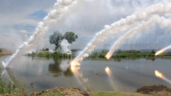 Άσκηση βίαιης διάβασης του Έβρου ποταμού, παρουσία Αρχηγού ΓΕΣ – ΦΩΤΟ