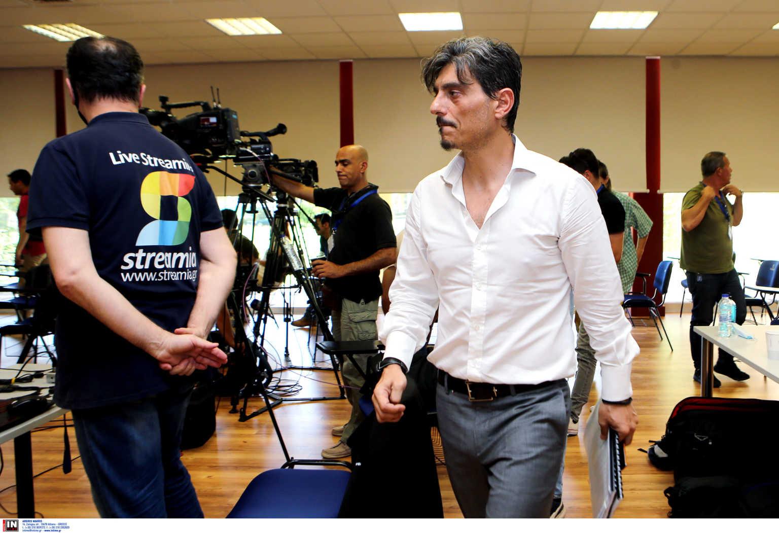 """Δημήτρης Γιαννακόπουλος LIVE – """"Ο κορονοϊός διέκοψε τη συνεργασία με τον Πιτίνο"""""""