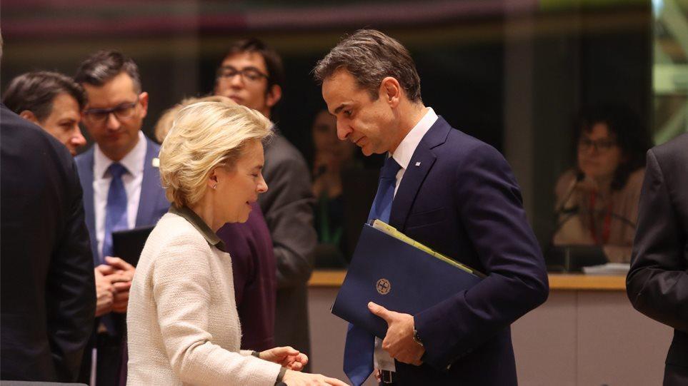 Ο Μητσοτάκης έστειλε επιστολή στην ηγεσία της ΕΕ για την τουρκική προκλητικότητα