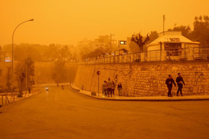 Κρήτη καιρός: Επιστροφή της αφρικανικής σκόνης