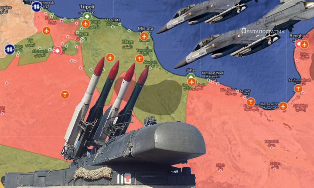 Eπιχείρηση φιάσκο της Άγκυρας στην Λιβύη: Ρωσικά αντιαεροπορικά συστήματα εγκλώβισαν τουρκικά αεροσκάφη
