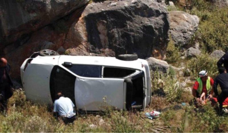 Τραγωδία με δύο νεκρούς στη Μαγνησία: Αυτοκίνητο έπεσε σε γκρεμό