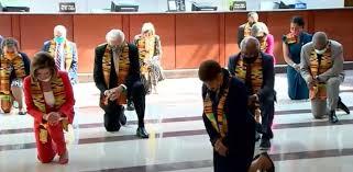 George Floyd: Οι Δημοκρατικοί τήρησαν σιγή οκτώ λεπτών και 46 δευτερολέπτων στη μνήμη του