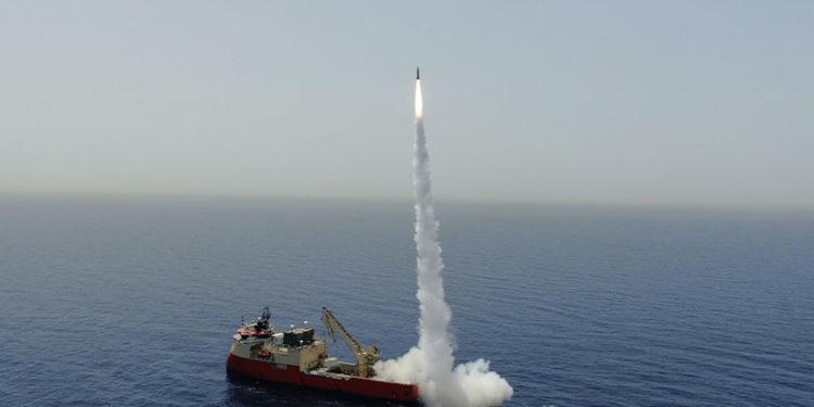 Καζάνι που βράζει με πολλούς παίχτες η Μεσόγειος: Επιτυχημένη εκτόξευση πυραύλου από το Ισραήλ (vid)