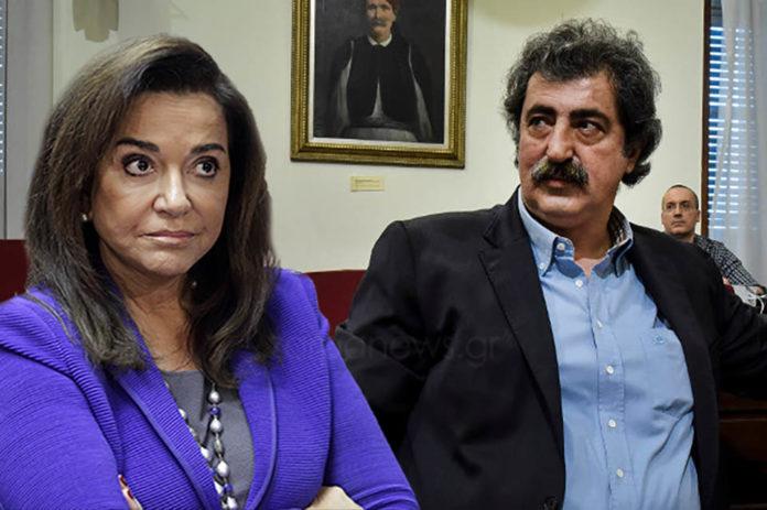 Ντόρα Μπακογιάννη: «Κάνει ο φουκαράς ο Πολάκης προσπάθεια να πει τα δικά του, όμως ξέρει πόσα προβλήματα έχουν λυθεί στα Χανιά»