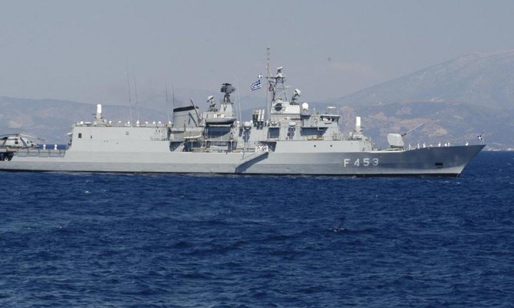 """Ελληνική Φ/Γ """"κυνηγάει"""" τουρκικά πολεμικά πλοία στην Λιβύη"""