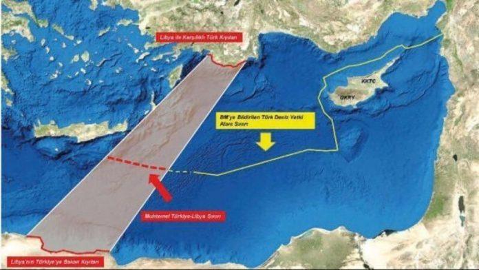 """Οι Τούρκοι στήνουν σκηνικό σύγκρουσης: """"Διαγράφουν"""" την Κρήτη & βάζουν στο στόχαστρο τα τεμάχια 15 & 20 – Χάρτης"""