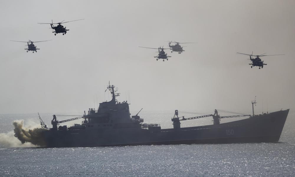 """Ουκρανός ναύαρχος: """"O στόλος της Ουκρανίας θα επιστρέψει στη Σεβαστούπολη"""""""