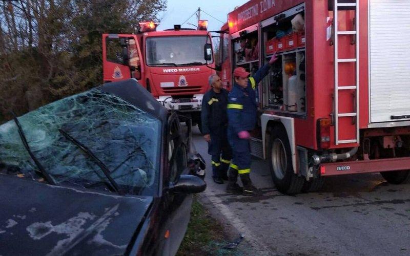 Αιματηρό τροχαίο με έναν νεκρό και δύο τραυματίες στην Ε.Ο. Αθηνών – Θεσσαλονίκης