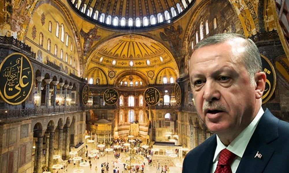 """Σοκ από Τούρκους για Αγία Σοφία: """"Σύντομα θα ακουστεί το Αλλάχ Ακμπάρ!"""""""