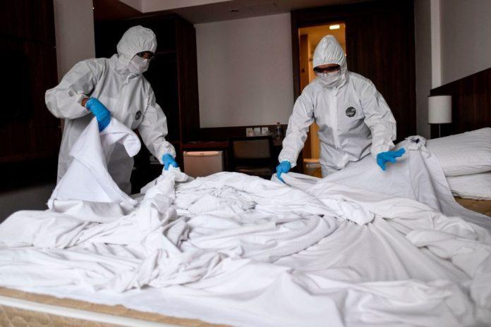 Τρεις τουρίστες στο ξενοδοχείο καραντίνας στην Κρήτη