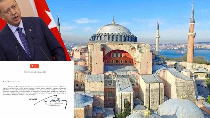 Αγία Σοφία: Δεν χάνει λεπτό ο Ερντογάν – Υφαίνονται χαλιά, τι θα γίνει με τις αγιογραφίες