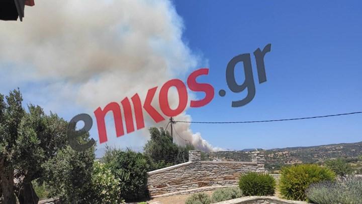 Εύβοια: Μαίνεται ανεξέλεγκτη η φωτιά στους Ραπταίους – Ενισχύθηκαν τα εναέρια μέσα – ΦΩΤΟ – ΒΙΝΤΕΟ