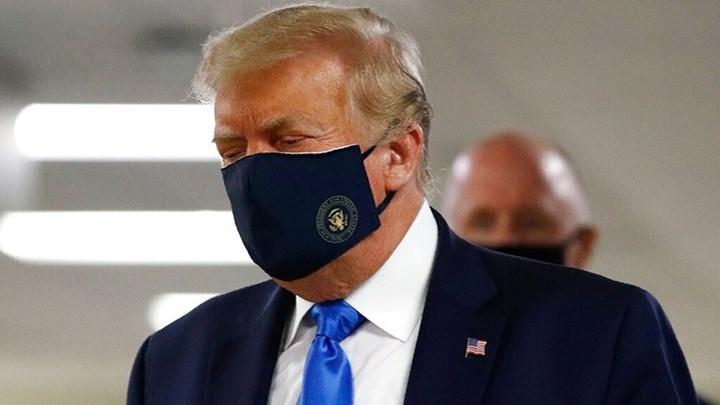 Ντόναλντ Τραμπ: Φόρεσε για πρώτη φορά δημόσια μάσκα