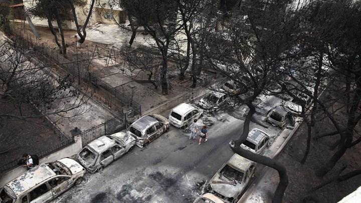 Φωτιά στο Μάτι: Δικαίωμα διορισμού στο Δημόσιο για τους βαριά εγκαυματίες