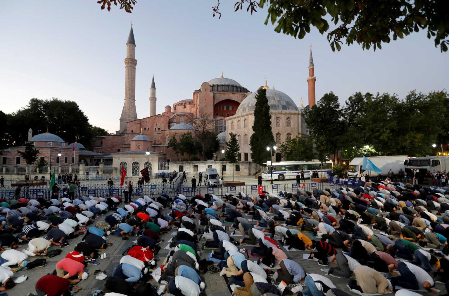 Διεθνές κύμα αντιδράσεων για την απόφαση μετατροπής της Αγίας Σοφίας σε τζαμί