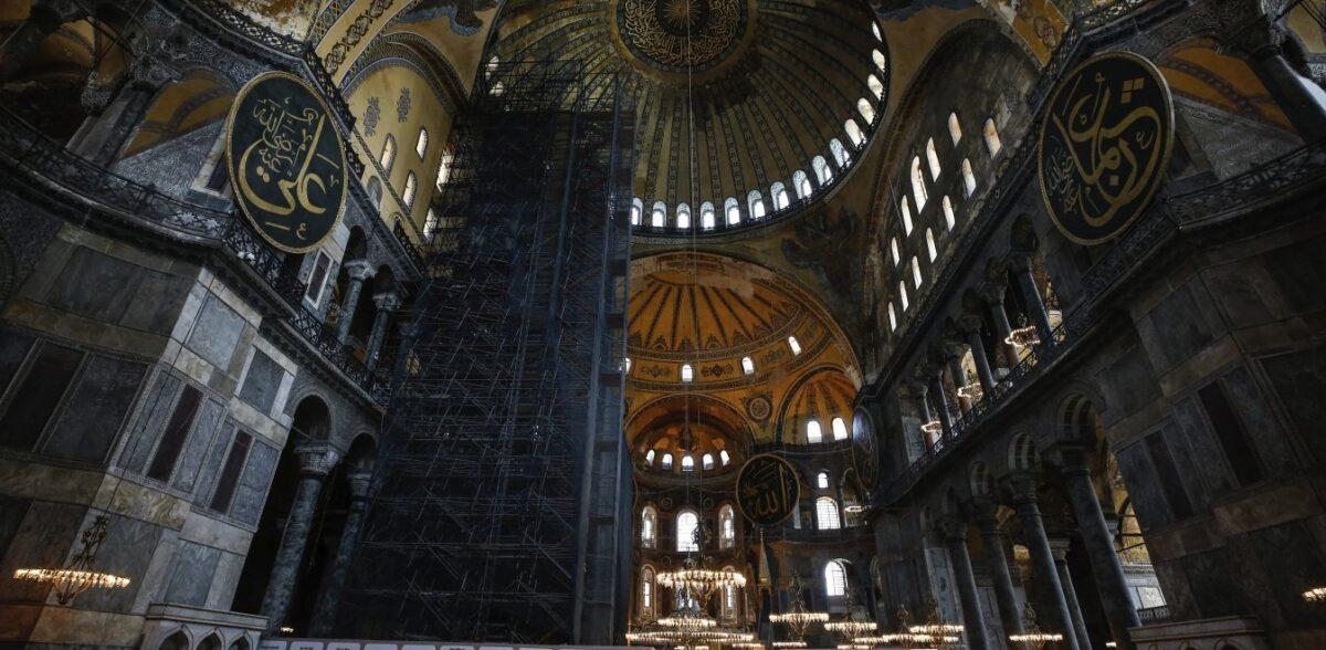 Αντιδράσεις Τούρκων στη μετατροπή της Αγίας Σοφίας σε τζαμί – Επικρίνουν Ερντογάν