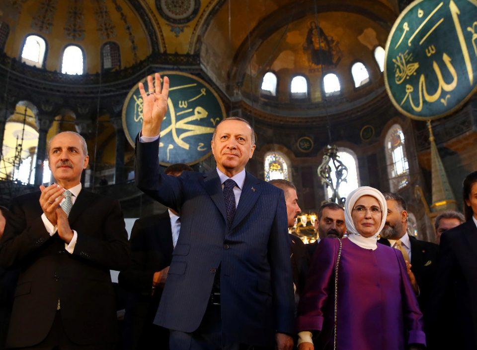 Ανάλυση: Τι θέλει να πετύχει ο Ερντογάν κάνοντας την Αγία Σοφία τζαμί- Το άγνωστο παρασκήνιο!