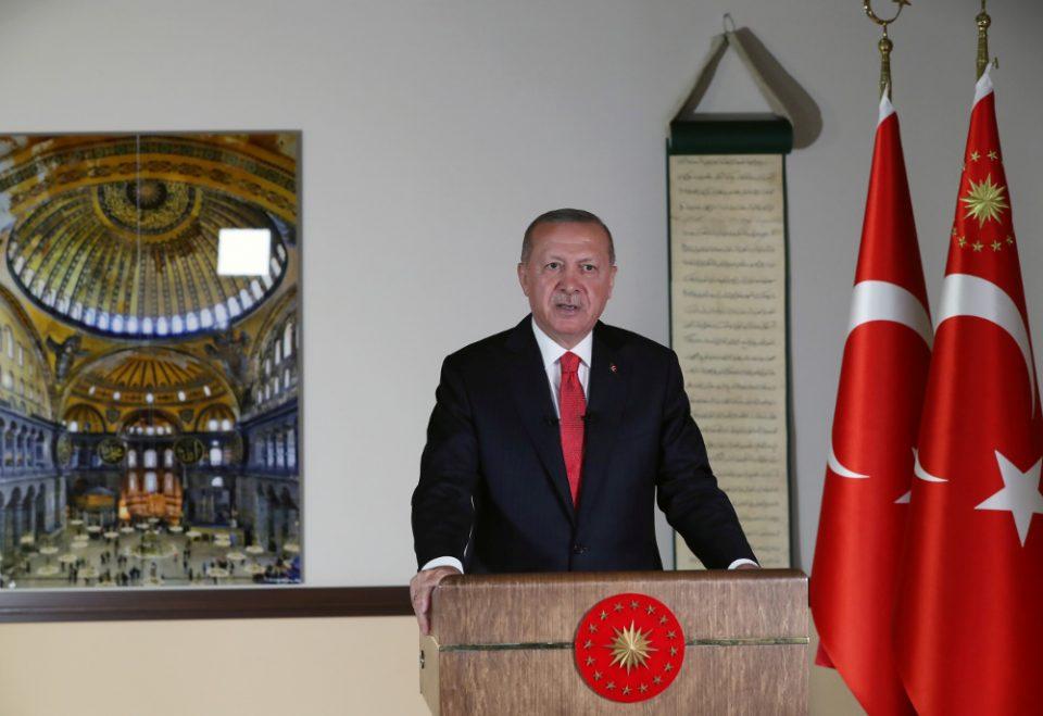 Κλιμακώνει την ένταση ο Ερντογάν: Θα συνεχίσουμε τη δουλειά που ξεκινήσαμε στην Αν. Μεσόγειο