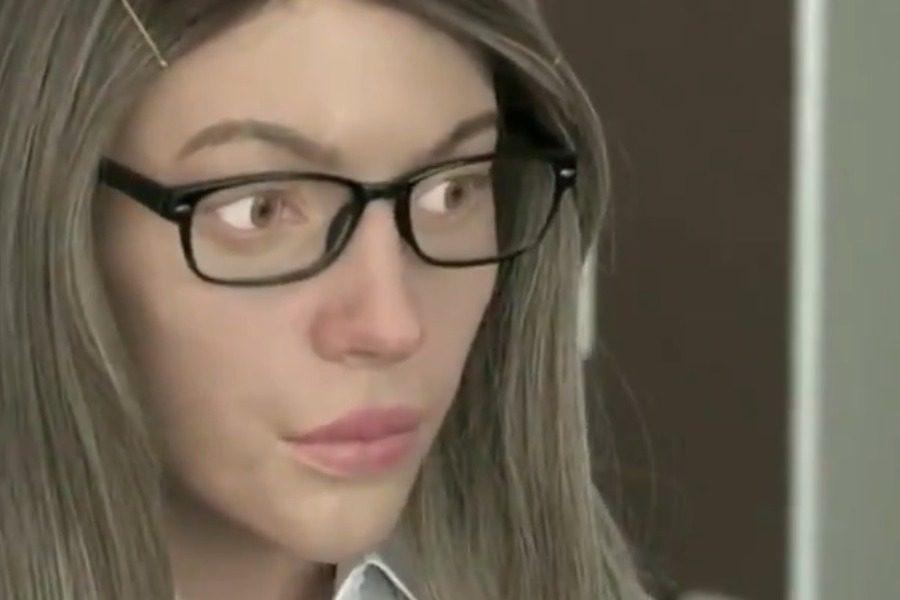 Σιβηρία: Η όμορφη ξανθιά υπάλληλος ήταν ρομπότ