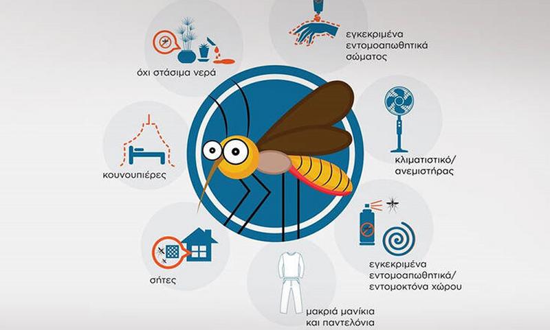 Κουνούπια: Πώς θα τα αποφύγετε – Οι οδηγίες του ΕΟΔΥ