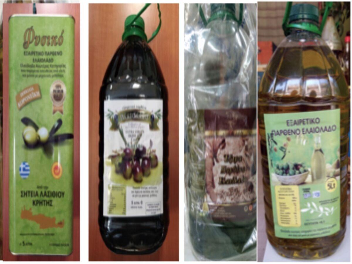 «Καμπανάκι» ΕΦΕΤ: Εντοπίστηκαν νοθευμένα ελαιόλαδα – Μην τα καταναλώσετε