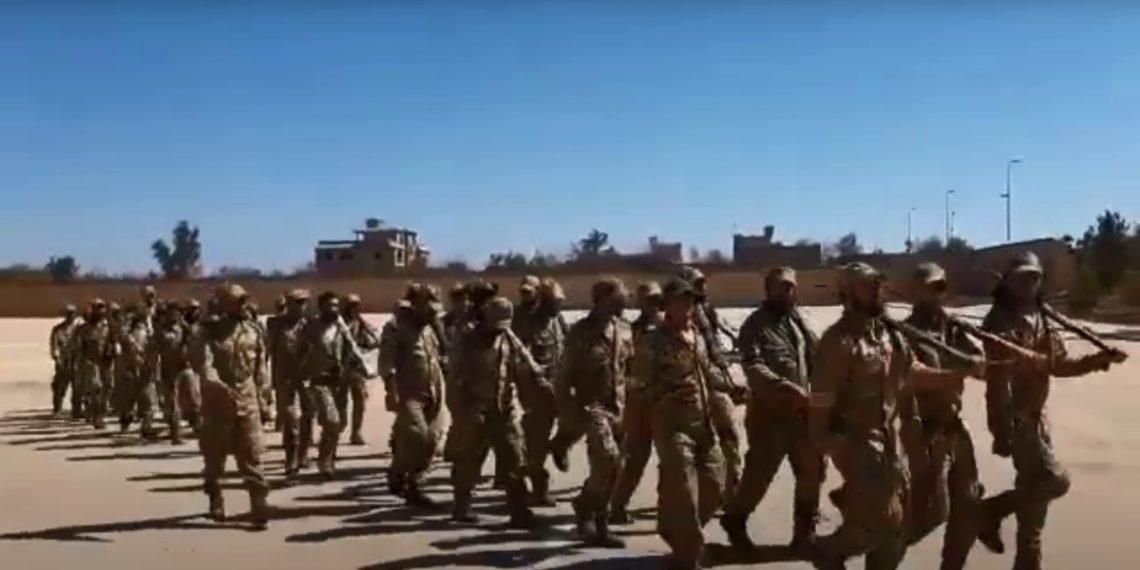 Λιβύη: Μισθοφόροι από τη Συρία στήνουν στρατόπεδο εκπαίδευσης πριν τη μεγάλη μάχη – Βίντεο ντοκουμέντο