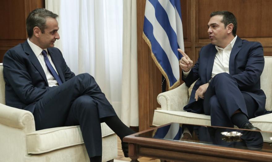 Στις 12:30 θα ενημερώσει ο Μητσοτάκης τον Τσίπρα για τα ελληνοτουρκικά