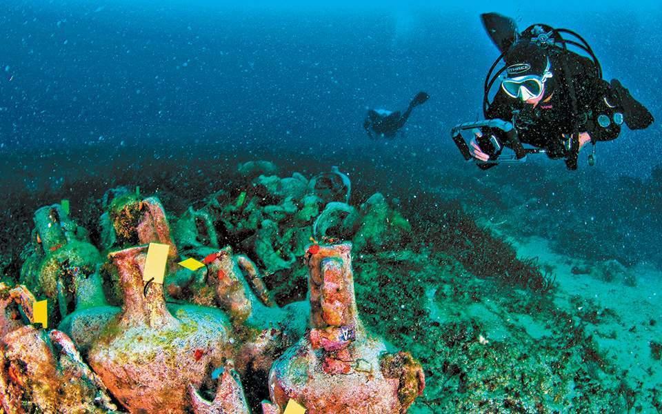 Ανοίγει το πρώτο ελληνικό υποβρύχιο μουσείο στην Αλόννησο