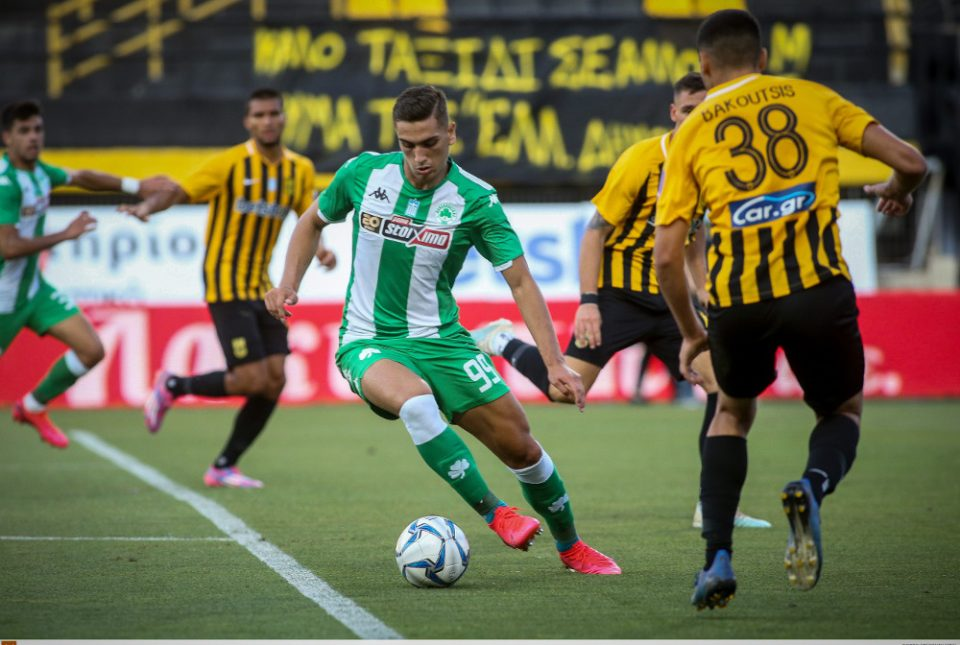 Super League 1: Νίκη γοήτρου με Κολοβό ο Παναθηναϊκός, 1-0 τον Άρη