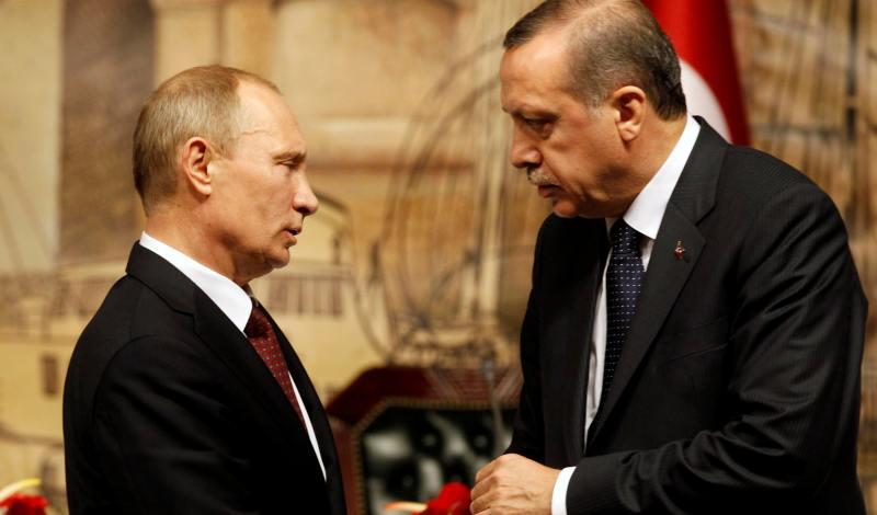 Τηλεφωνική επικοινωνία Ερντογάν με Πούτιν
