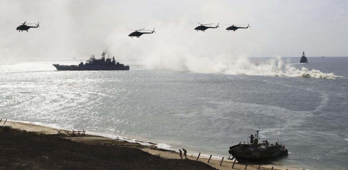 Στην ανατολική Μεσόγειο ο ρωσικός στόλος – Ηχηρό μήνυμα στον Ερντογάν