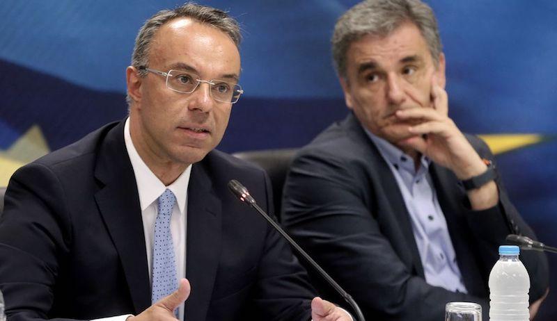 Χάος μεταξύ Σταϊκούρα και Τσακαλώτου – Είσαι ο Υπουργός των Πλειστηριασμών είπε ο υπ. Οικονομικών (βίντεο)