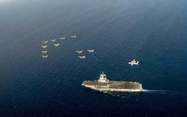 Προς την Κρήτη πλέει το πυρηνοκίνητο αεροπλανοφόρο «Αϊζενχάουερ»