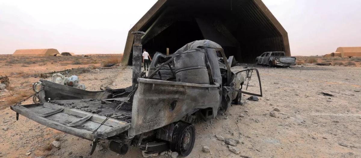 ΕΚΤΑΚΤΟ: Νέα επιδρομή στην τουρκική βάση Αλ Βατίγια της Λιβύης – Μαχητικά από την Αίγυπτο βομβάρδισαν τους Τούρκους