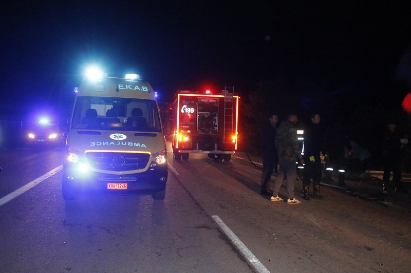 Τραγωδία στην Αλεξανδρούπολη: 10 νεκροί και δύο τραυματίες σε τροχαίο στην Εγνατία οδό