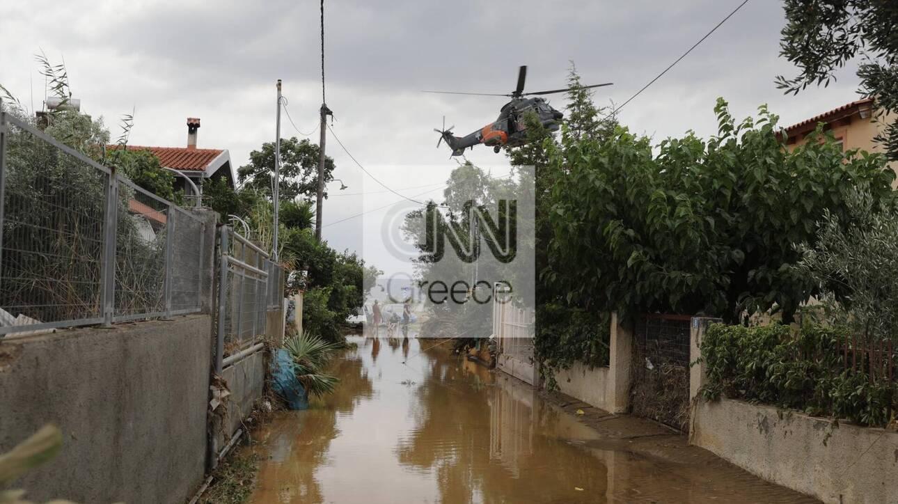Πλημμύρες στην Εύβοια: Εντοπίστηκε ζωντανή μία εκ των αγνοουμένων