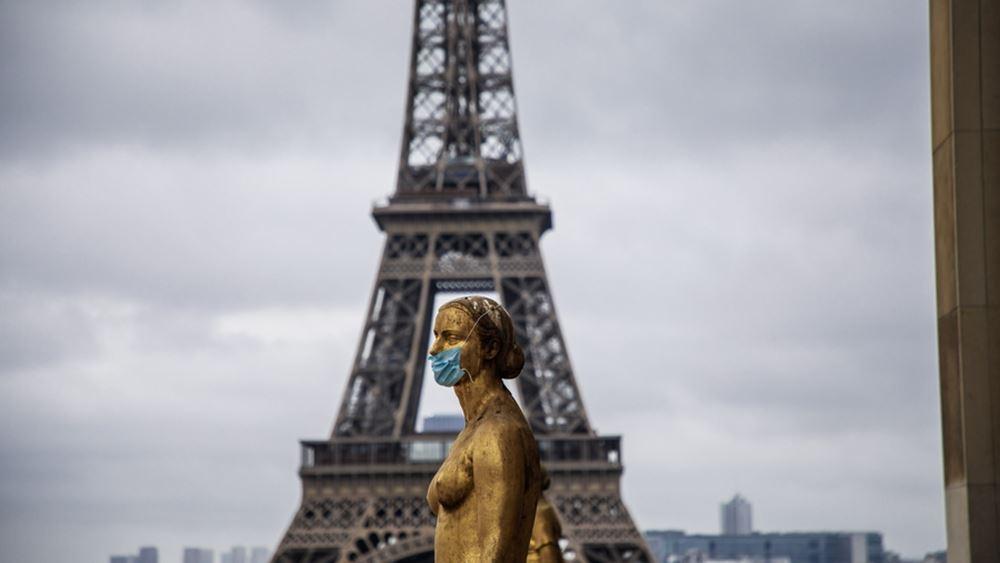 Γαλλία: Άλλα 1.397 κρούσματα, σχεδόν διπλάσια από χθες, καταγράφηκαν σε όλη τη χώρα