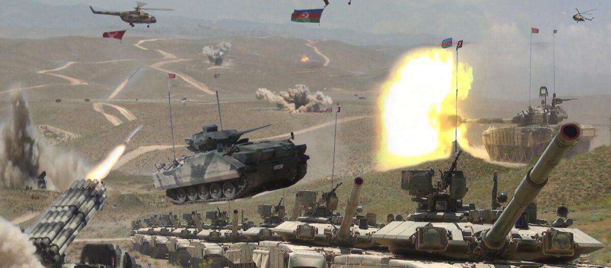 «Καζάνι» που βράζει ο Καύκασος: Οι τουρκικές δυνάμεις μπήκαν στο Ναχιτζεβάν για ασκήσεις