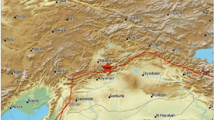 Ισχυρός σεισμός ΤΩΡΑ στην Τουρκία
