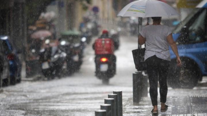 """Κακοκαιρία """"Θάλεια"""": Πλησιάζει την Αττική – Βροχές και καταιγίδες από το μεσημέρι"""