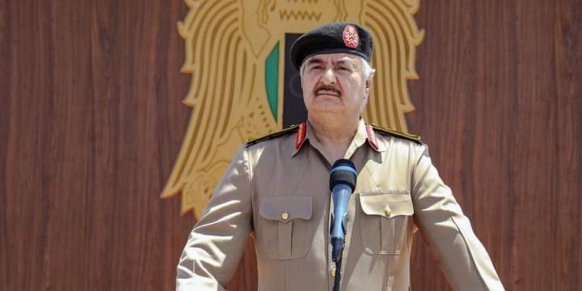 Χάφταρ: Σκοπός μας η εκδίωξη των Τούρκων αποικιοκρατών από τη Λιβύη