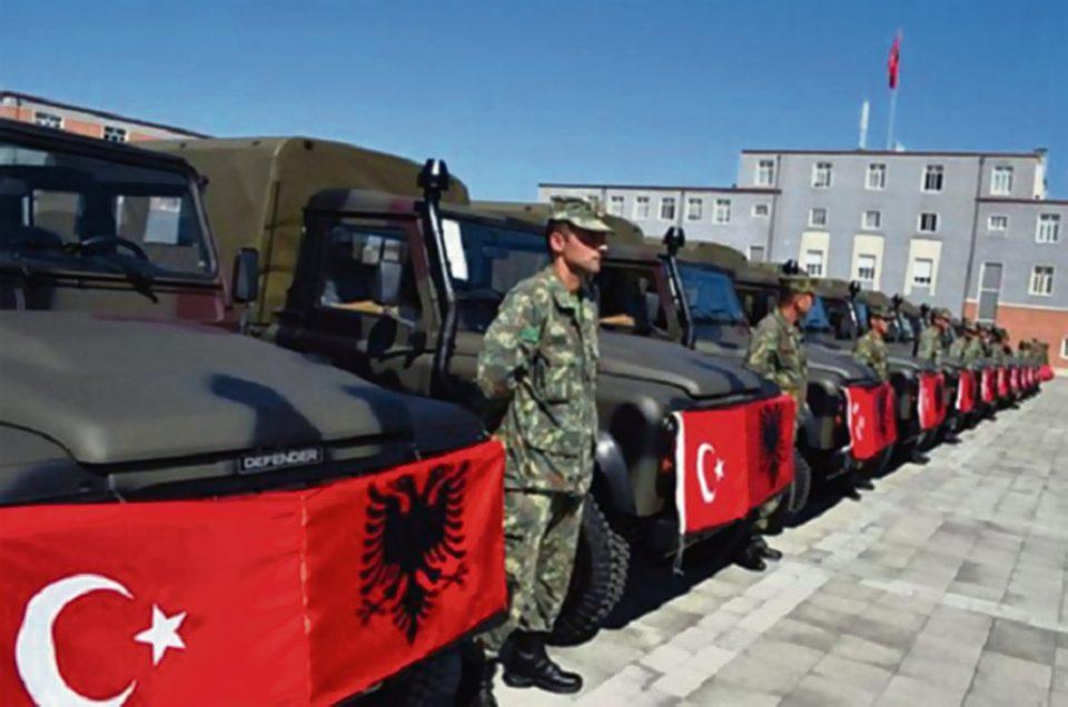 Με εξοπλισμό και… διοίκηση από την Τουρκία ο στρατός της Αλβανίας
