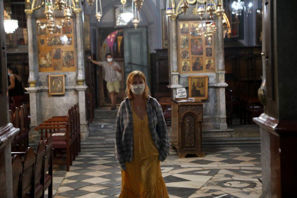 Ένας διαφορετικός Δεκαπενταύγουστος:Η Ελλάδα γιορτάζει την Κοίμηση της Θεοτόκου με προσοχή λόγω της πανδημίας
