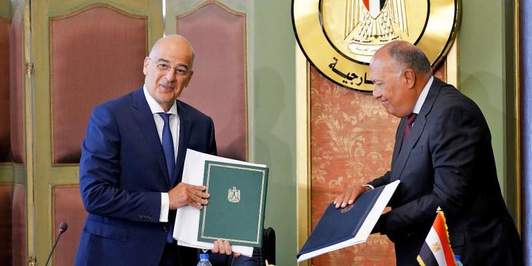 Δένδιας για ΑΟΖ Ελλάδας-Αιγύπτου: Αμεσα στη Βουλή η συμφωνία -Ολο το παρασκήνιο πριν πέσουν οι υπογραφές