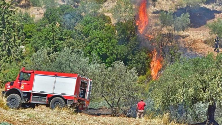 Έβαλε φωτιά ενώ έκανε αγροτικές εργασίες
