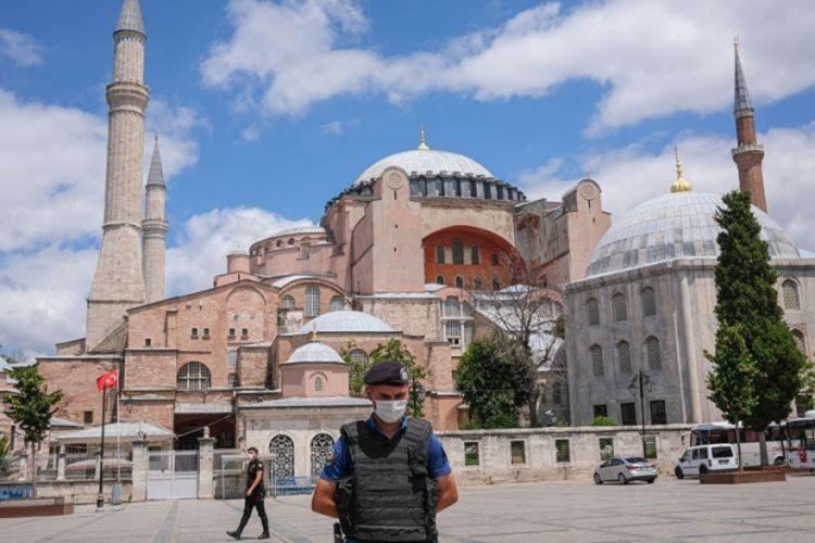 ΠτΔ: Να καταδικαστεί η μετατροπή της Αγίας Σοφίας σε τζαμί