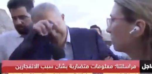 «Μας επιτέθηκαν»: Ο κυβερνήτης της Βηρυτού κλαίει για την έκρηξη και εύχεται να βρεθεί ο υπεύθυνος [βίντεο]