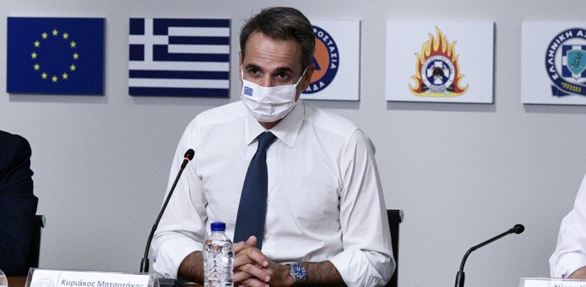 Κορονοϊός: Μήνυμα αφύπνισης από Μητσοτάκη και σκληρότερα μέτρα στο τραπέζι
